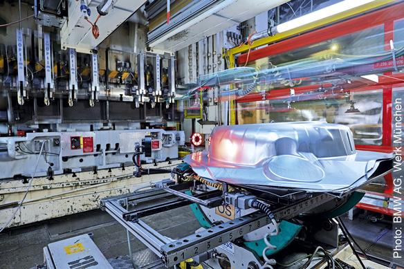 BMW automotive crack detection