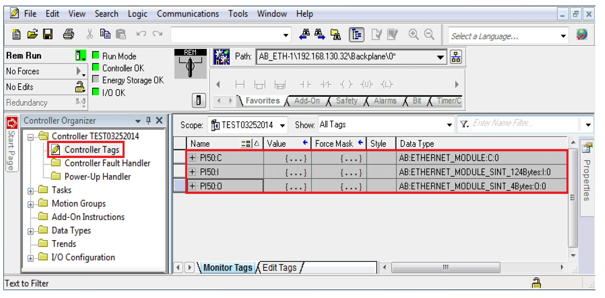 Easily Obtain Vision Sensor Data Over EitherNetIP