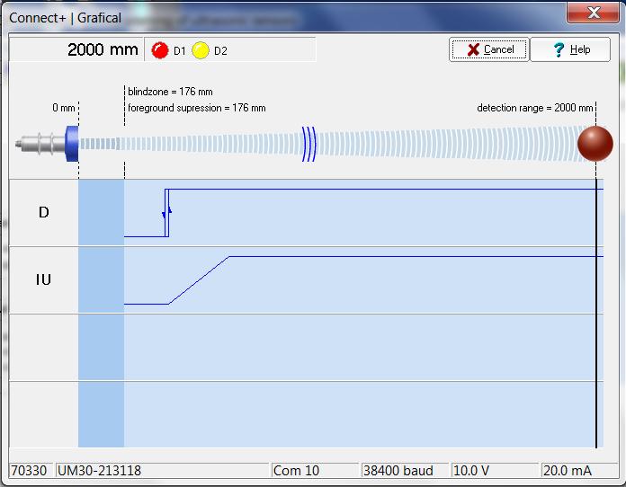 UM30 ultrasonic sensor 6