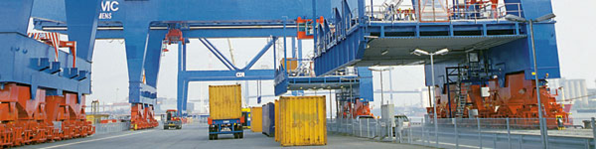 Safety and Active Driver Assistance for Smooth-Running Port Logistics Processes