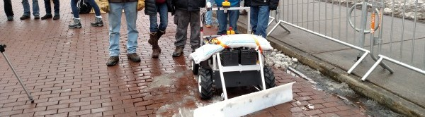 Autonomous Snowplow Competition, Autonomous Snowplow Competition Helps Students Gain Machine Design and Programming Skills