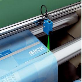 sensor reads printer marks