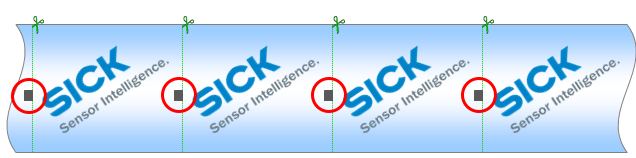Registration marks, How to Design Registration Marks that can be Read by a Contrast Sensors