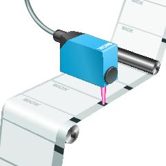 contrast sensor reads eyemarks