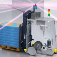 How to Locate Autonomous Vehicles in a Warehouse Using the NAV350 2D Laser Scanner