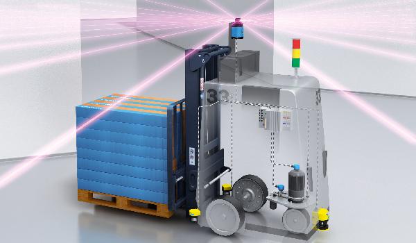 Autonomous Vehicles, How to Locate Autonomous Vehicles in a Warehouse Using the NAV350 2D Laser Scanner