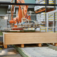Safety Laser Scanner Case Study: Stacking Always Results in Wood Chippings