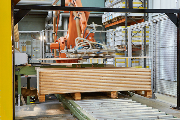 Laser Scanner, Safety Laser Scanner Case Study: Stacking Always Results in Wood Chippings