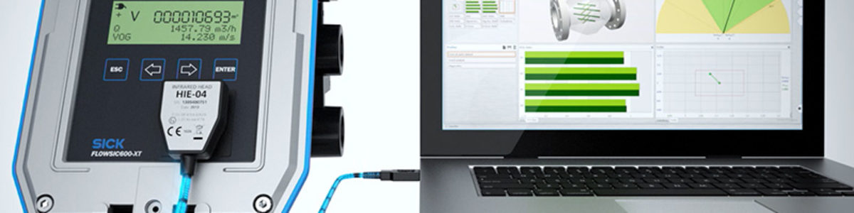 FLOWgate™: The gate to ultrasonic gas flow measuring devices from SICK