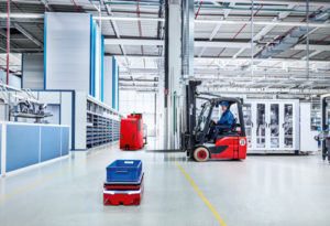 backup sensing, How Automation Technologies Improve Efficiency and Reduce Collisions on Manned Forklifts