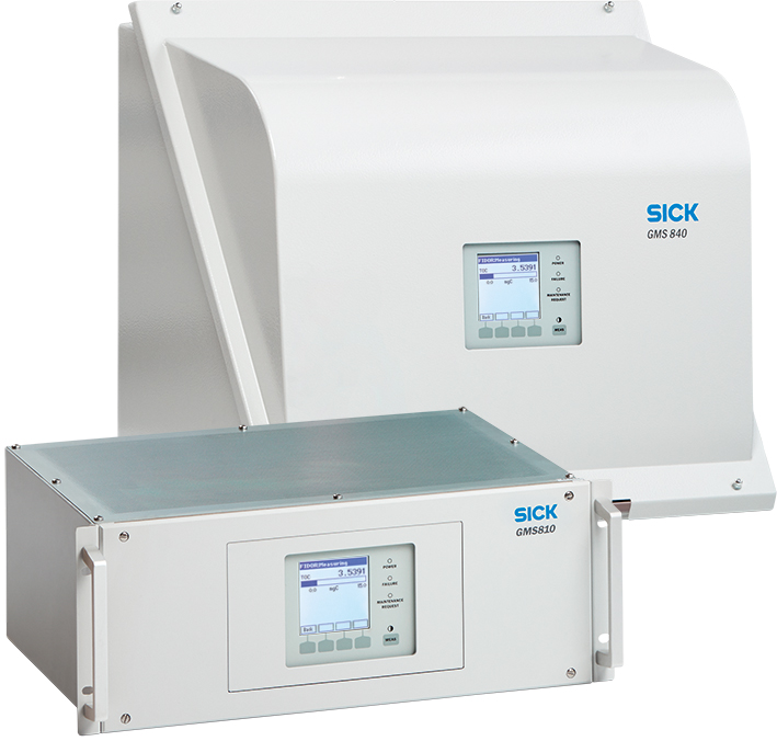 GMS800 gas analyzer
