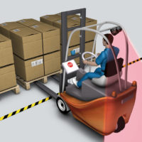 How Automation Technologies Improve Efficiency and Reduce Collisions on Manned Forklifts