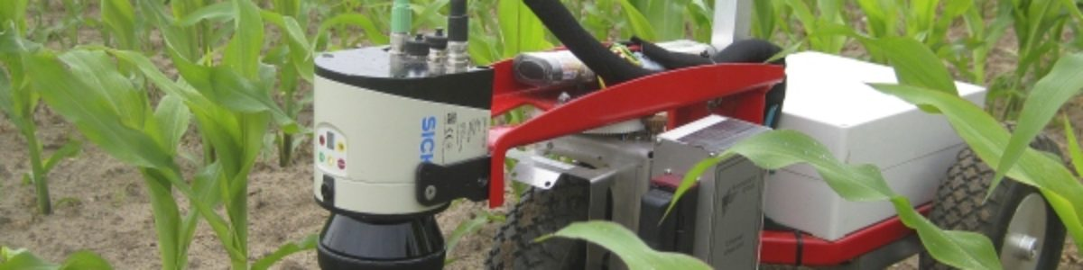 Maneuvering Agricultural Robots with 2D Laser Scanners