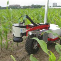 Crop robot with 2D Laser Scanner