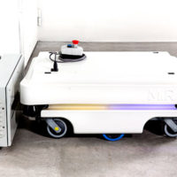 AGC Avoids Collisions with Safety Laser Scanners