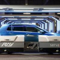 Parking in the Future: Intelligent Sensors Control Autonomous Parking Robot
