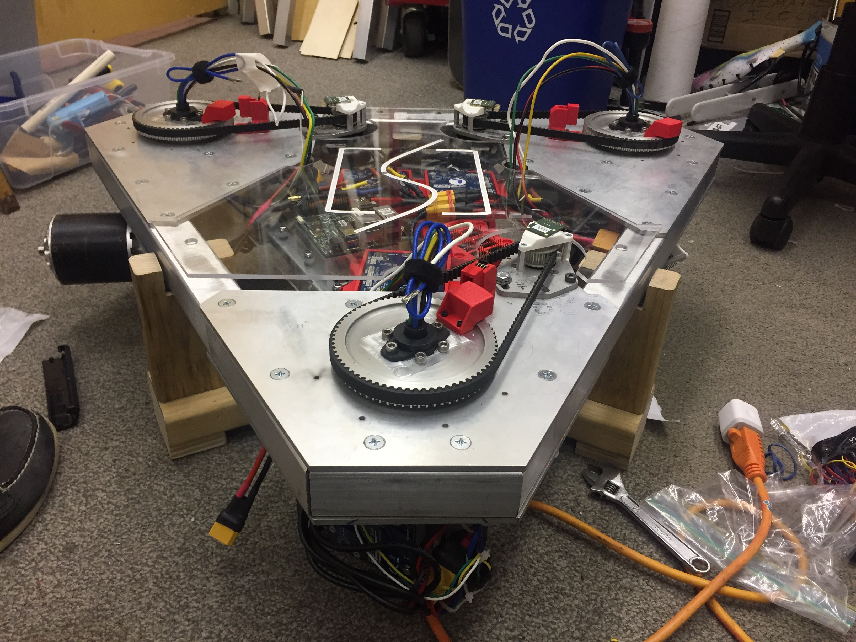 robotic platform, Swerve Robotic Platform Relies on SICK LiDAR Sensor