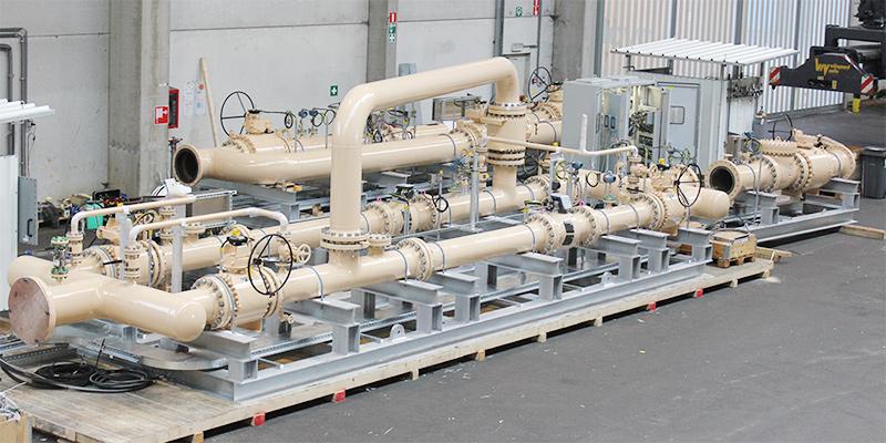 tan gas pipeline