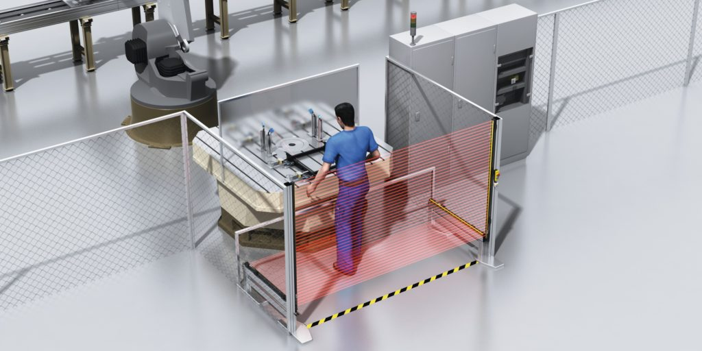 automotive machine safety, Machine Safety in Automotive Production with deTec4
