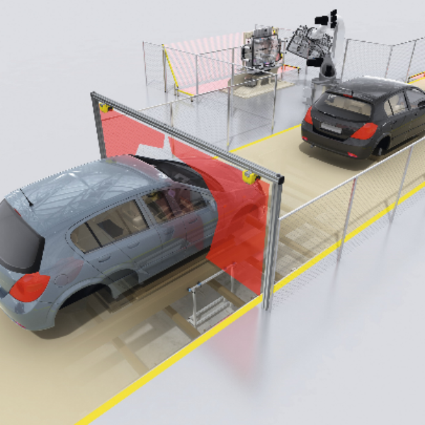 How to Use a Safety Laser Scanner in a Vertical Application