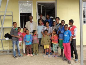 Children at Selam Children's Village