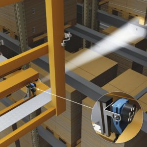 rack fine positioning, Precise Fine Positioning for Single- and Double-Deep Racking