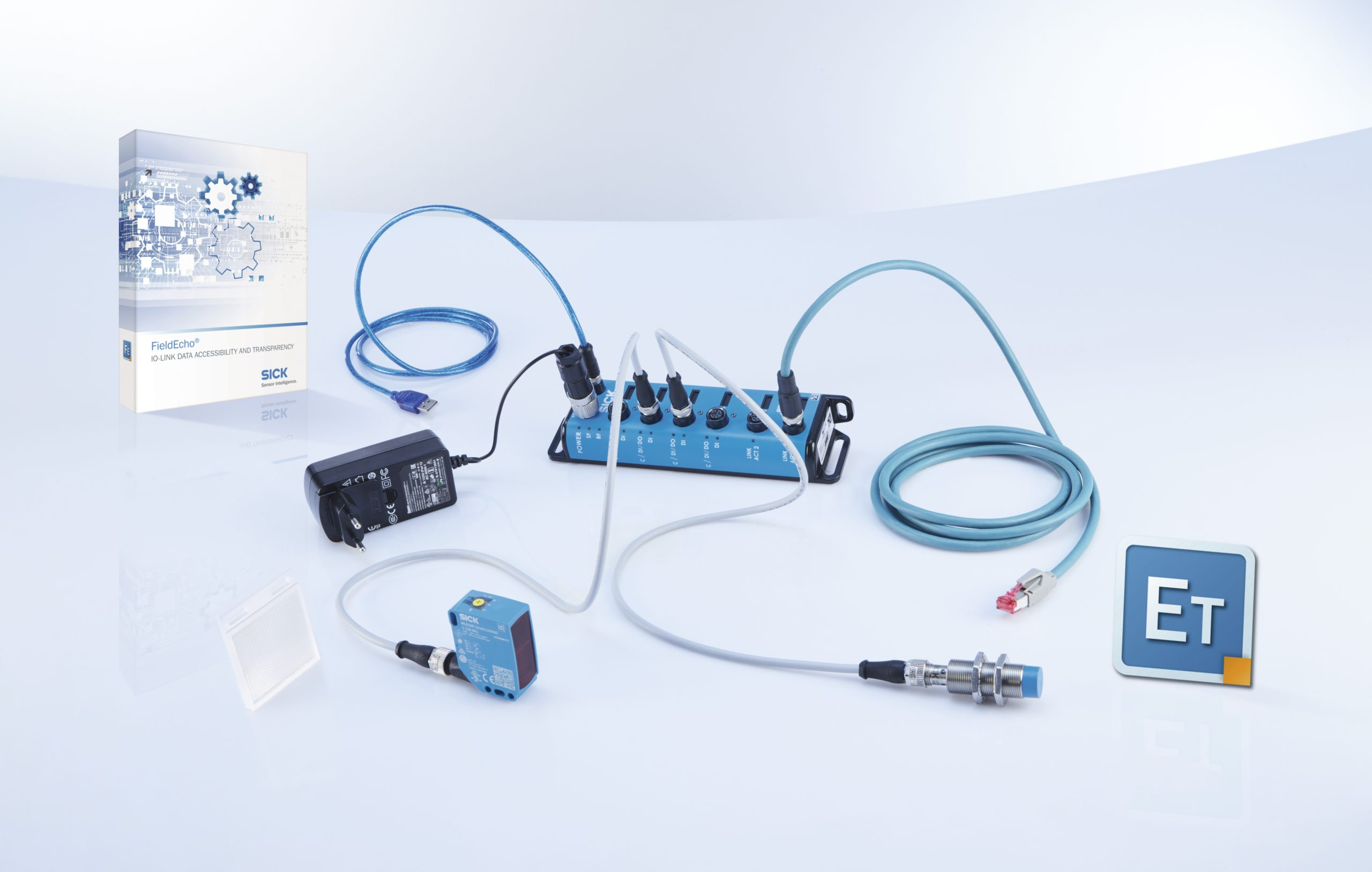 IO-Link devices, FieldEcho® Helps Take IO-Link a Step Farther into Industry 4.0