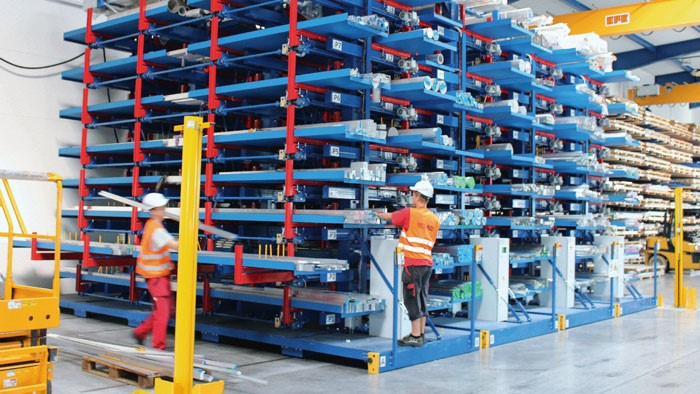 multiple light beam safety devices, Safety solutions ensure safe movement of high racks