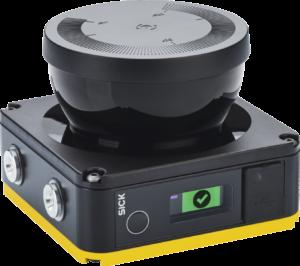 smallest safety laser scanner, Smallest profile safety laser scanner on the market enhances use of small mobile robots