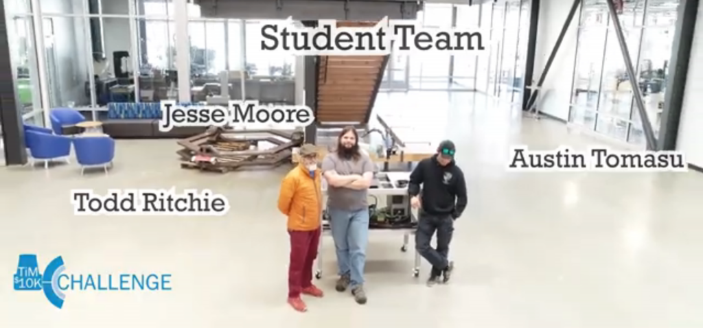 Robo Replicator team SICK TiM10k Challenge 2020 Clover Park Team