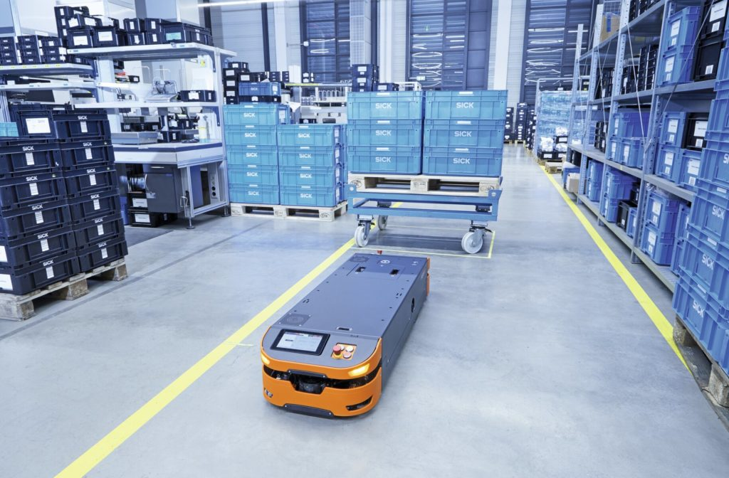 pallet pocket detection, Simplifying Automated Dolly Positioning and Pallet Pocket Detection