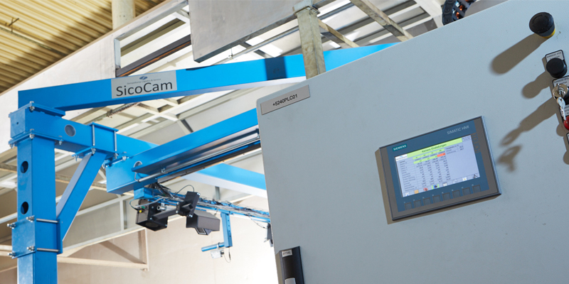 sicoCam, Costly Manual Measurement of Raw Chipboard is a Thing of the Past