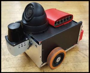 freefall robot SICK TiM10k 2020