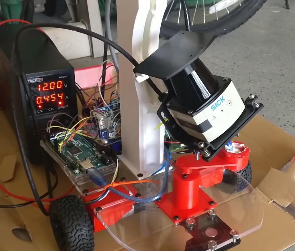 2d lidar sensors, TiM$10K Challenge Contributors Revolutionize Dangerous Profession with LiDAR Technology