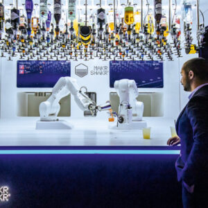 Your newest bartender: Toni the Robot