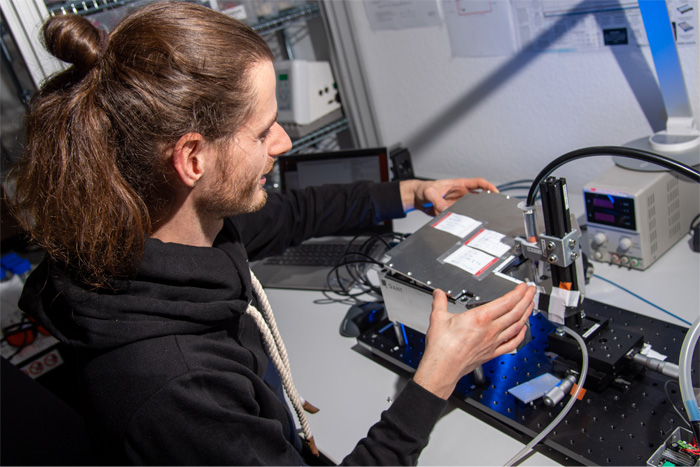 technology hub sensors and metrology, SICK and TRUMPF developing first quantum optical sensor for serial production
