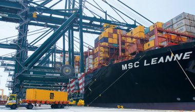 Smart Data Solutions, Smart Data Solutions for Quay Cranes at a Container Terminals