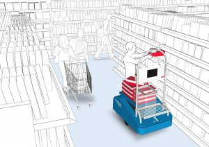 , Revolutionizing Grocery Shopping with Mobile Robots