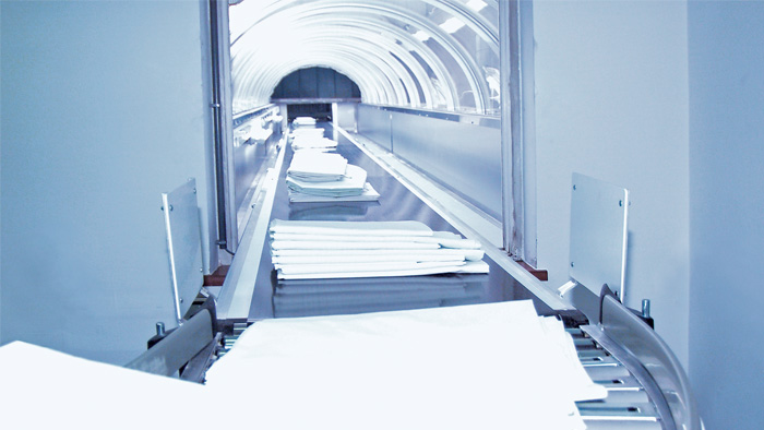 2d machine vision solution, Tailor-made Vision Solution to Automate Laundry Services