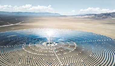 , Using solar energy to optimize processes in solar power plants