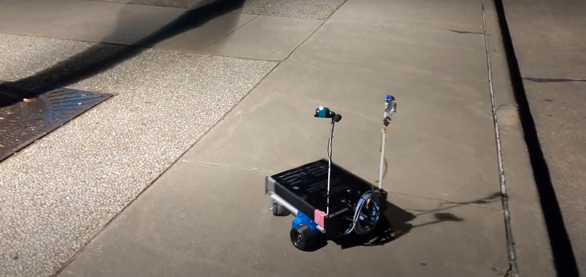 TiM$10K Challenge, Introducing Your Campus Tour Guide: VALE the Robot