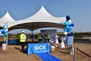 north american headquarters, SICK breaks ground and celebrates future new North American Headquarters