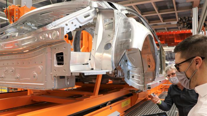 rfid technology, How RFID Improves Digital Production and Logistics at Audi