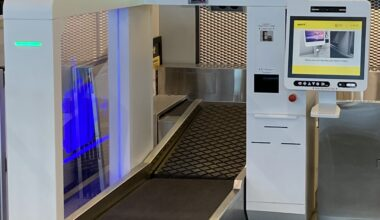 self-bag drop, Streamline the baggage check-in process with fully automated self-bag drop