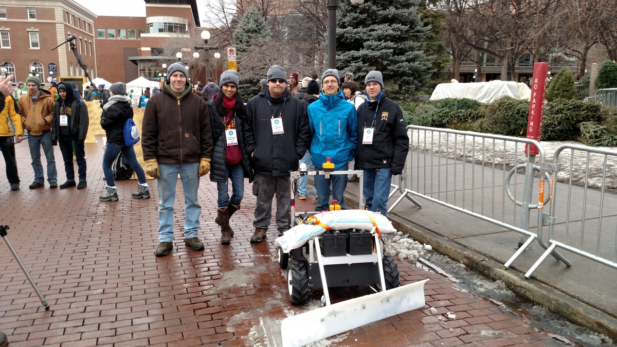 The University of Minnesota GOFIRST Robotics Team